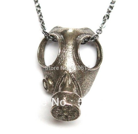 gasmask pendant