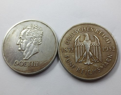 goethe coin chinese