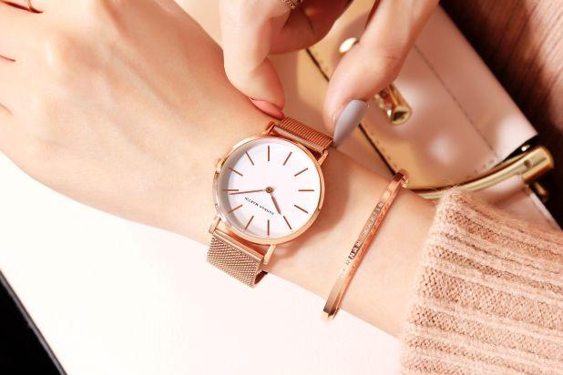 golden watch japan style