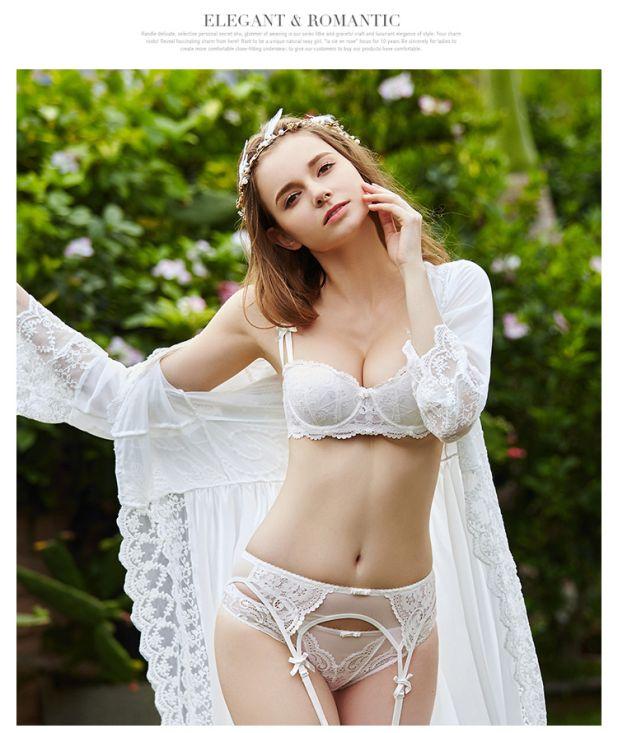 a set of underwear with a garter belt