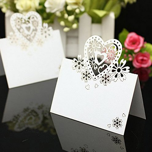 wedding name cards guests