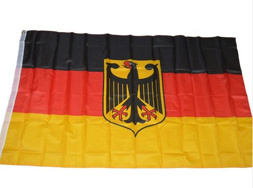 german flag china
