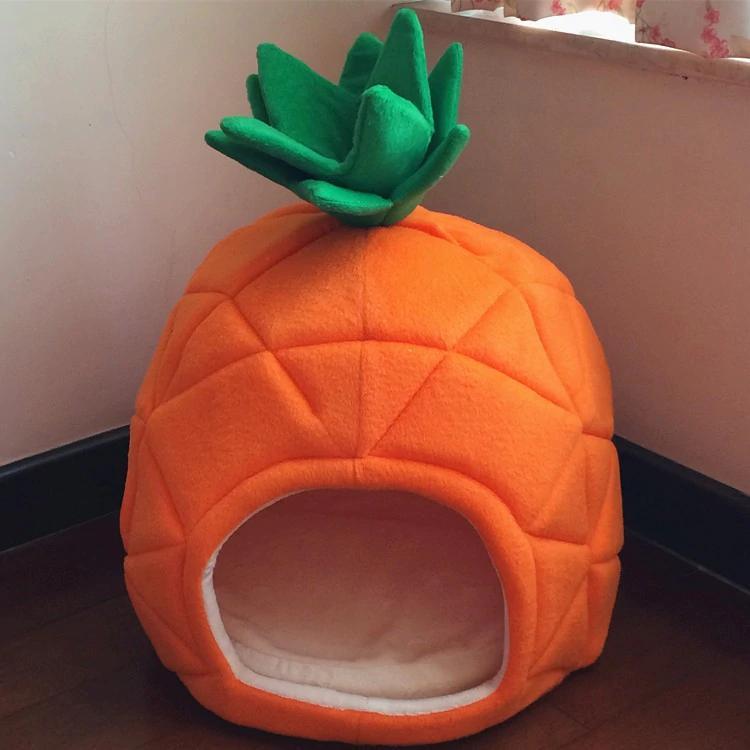 pineapple dog tent