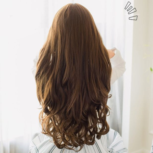 attached hair aliexpress