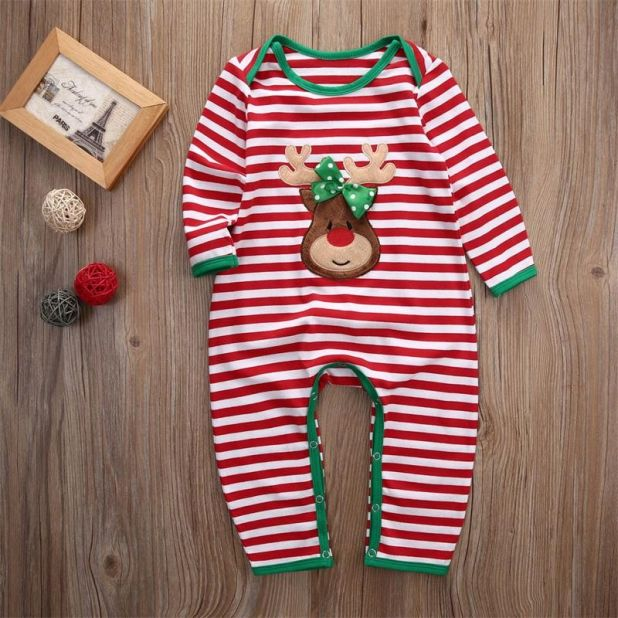 Christmas rompers aliexpress