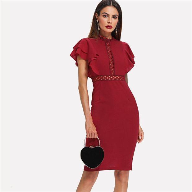 Seductive Red Dress