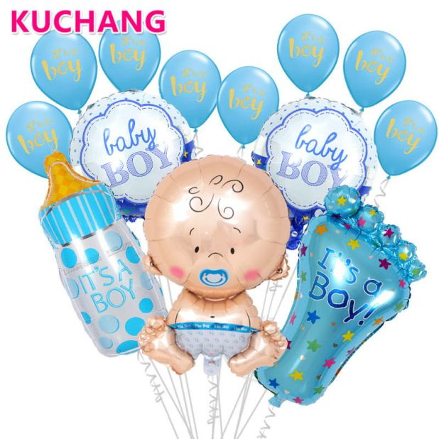 balloons for a baby shower