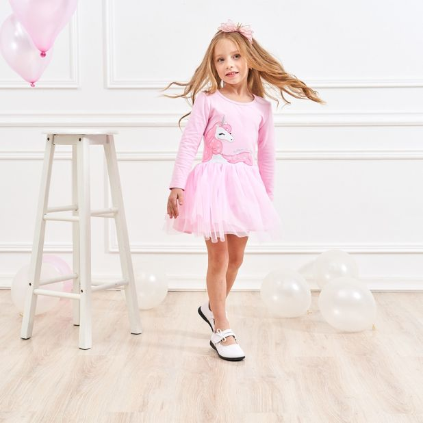 cotton unicorn girl dress aliexpress