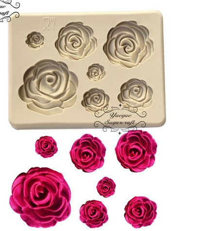 mold for roses with sugar aliexpress