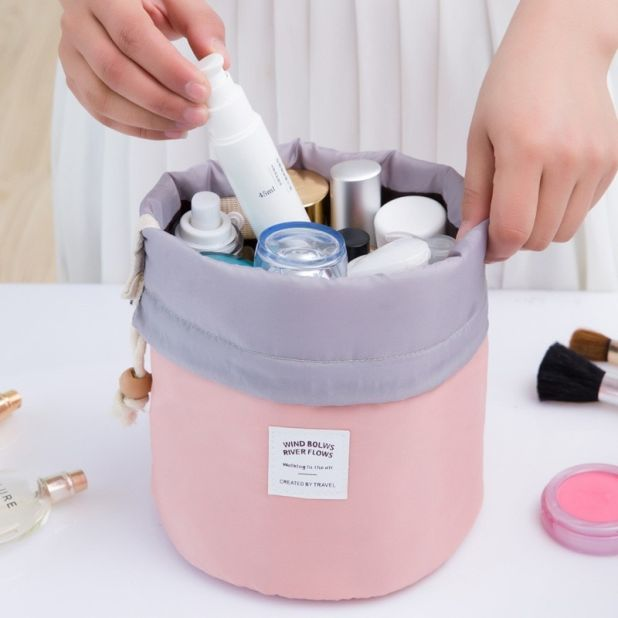 Round Cosmetic Bag Aliexpress