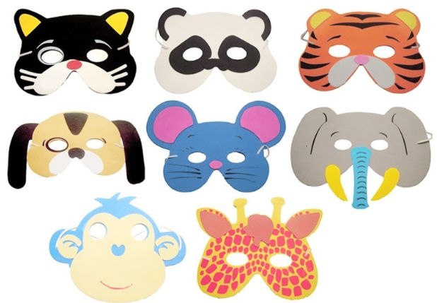funny masks for a birthday party