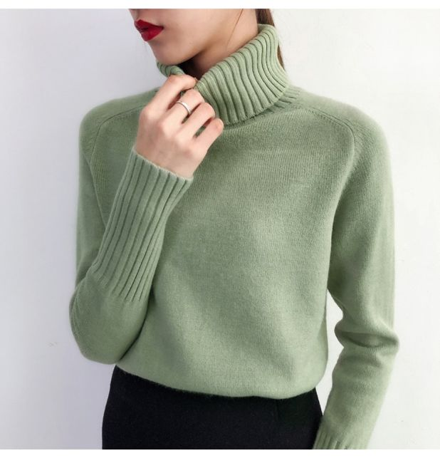 Elegant sweater with cuffs Aliexpress