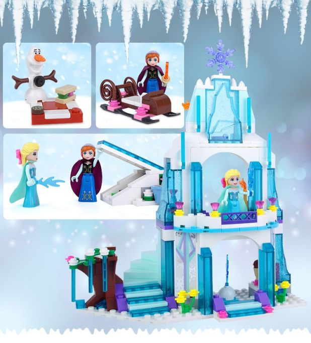 elsa magic ice castle aliexpress