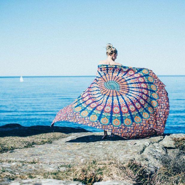 tapestry mandala hippie aliexpress