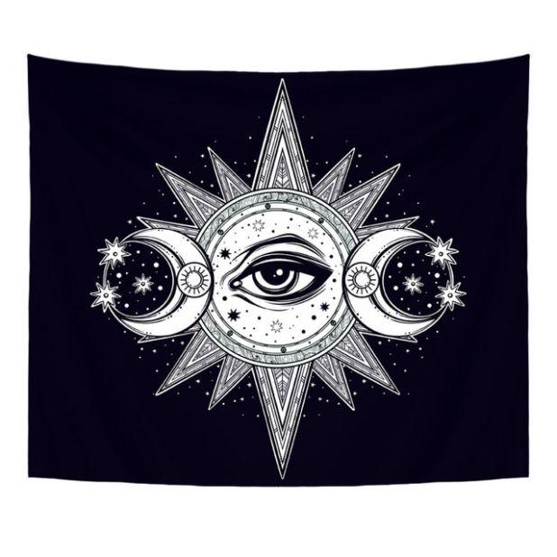 tapestry sun moon aliexpress