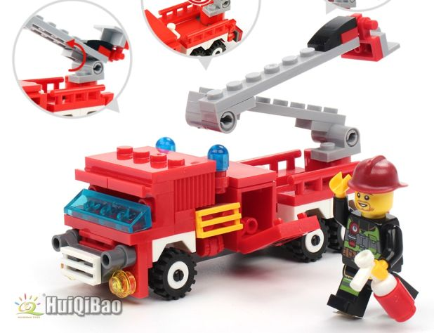 fire truck blocks