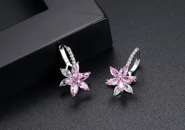 earrings romantic flowers aliexpress