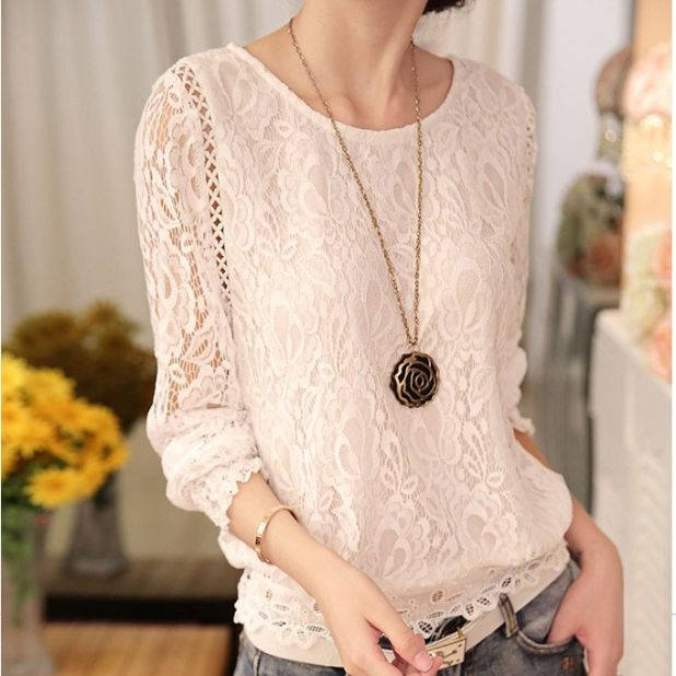 lace blouse aliexpress