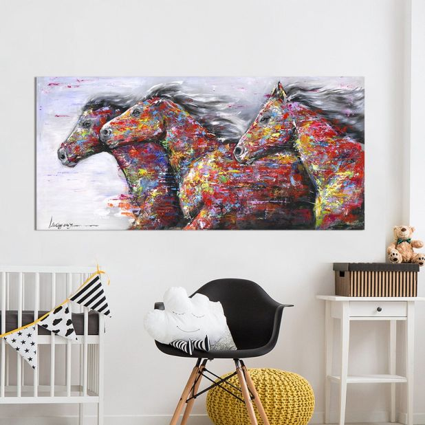 picture of horses at the gallop aliexpress