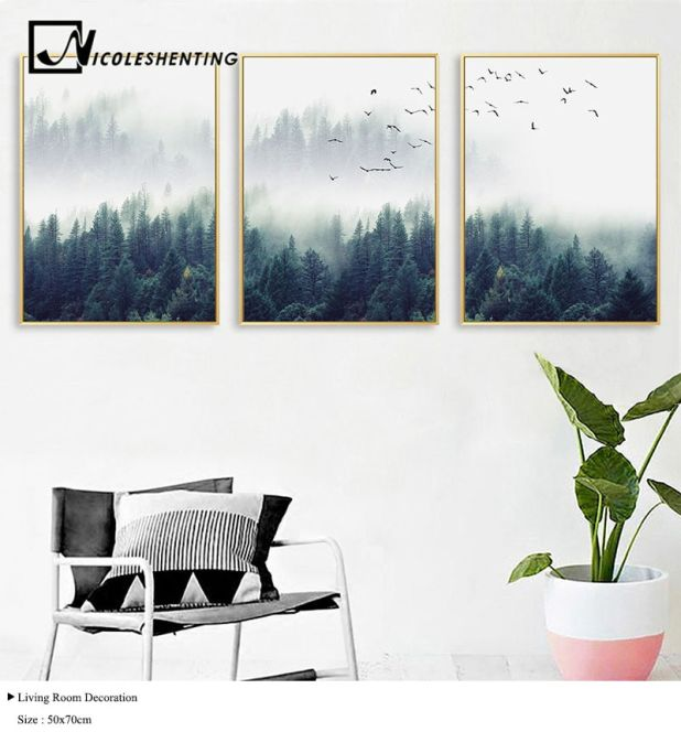 picture nordic forest aliexpress