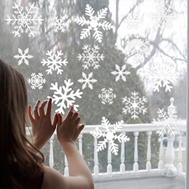 snowflakes stickers aliexpress