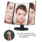 Illuminated LED mirror for makeup aliexpress