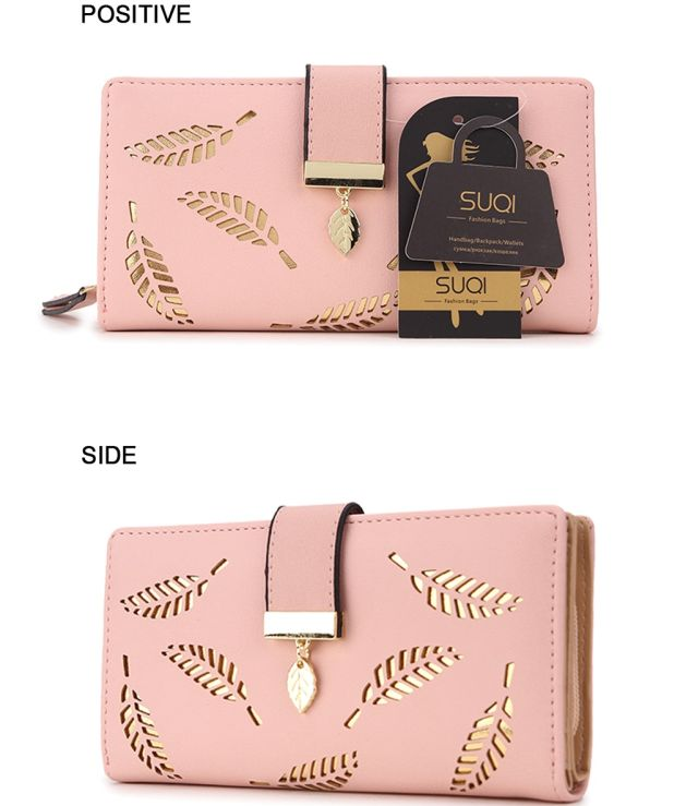 ladies wallet gold feather aliexpress