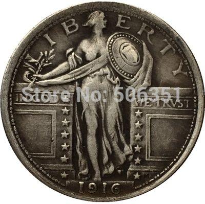 standing liberty quarter coin aliexpress