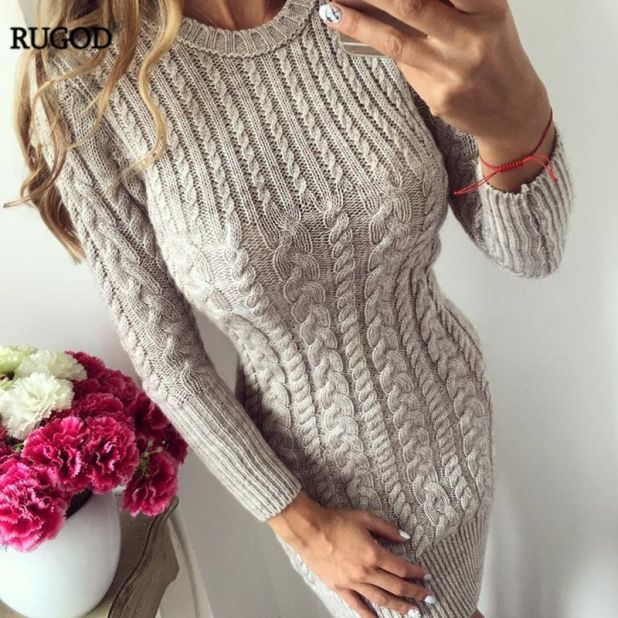 knitwear dress aliexpress