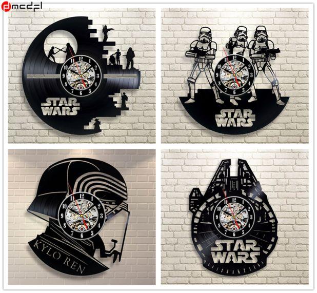 vinyl clock star wars aliexpress