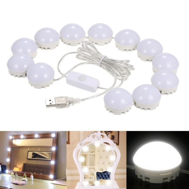 set of bulbs for makeup mirror aliexpress