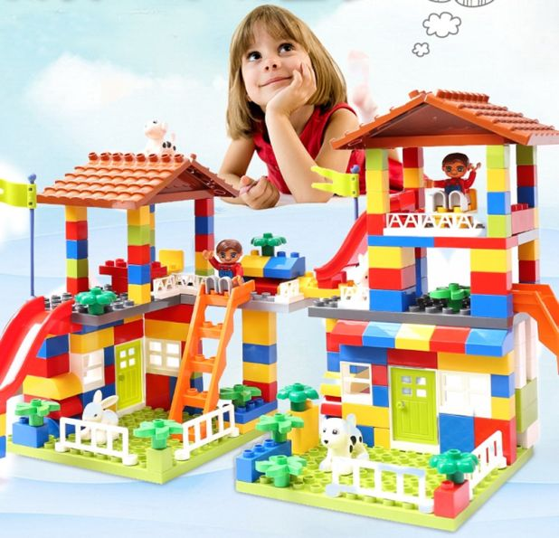set of city house blocks aliexpress