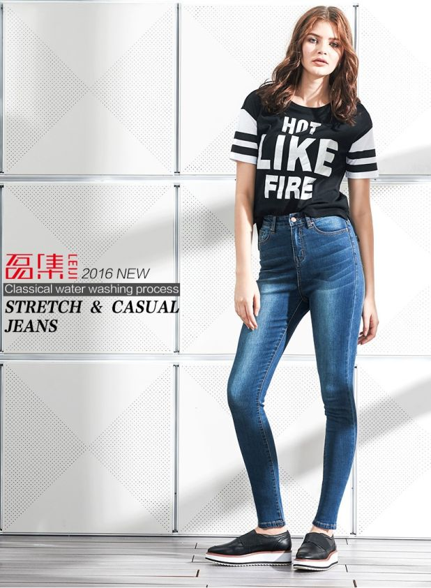 aliexpress jeans with high-waisted