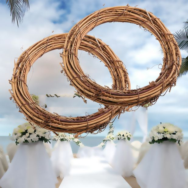 aliexpress rattan wreath