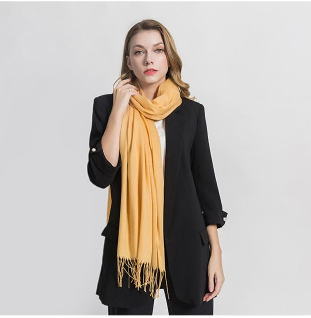 classic scarf with aliexpress fringes