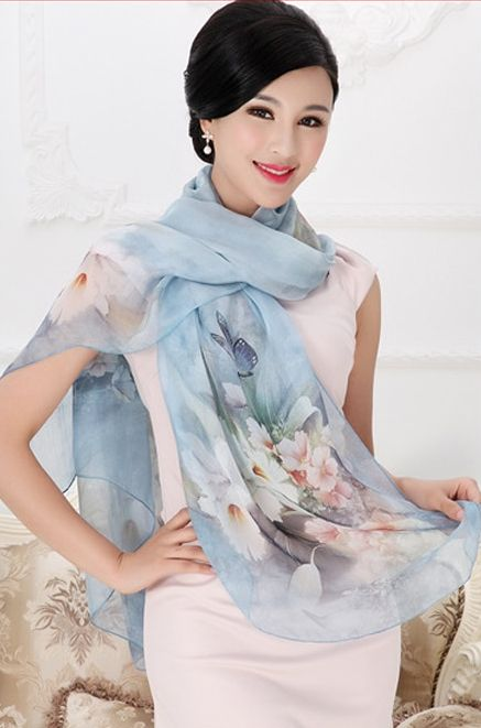 luxurious silk aliexpress scarf
