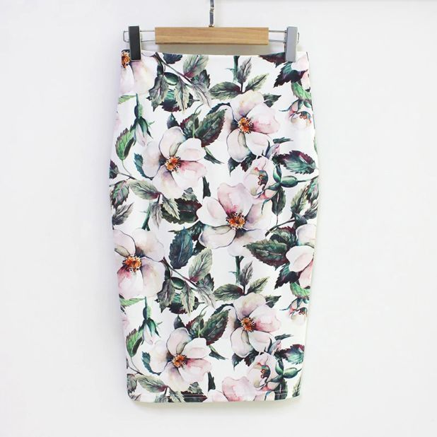 skirt in aliexpress flowers