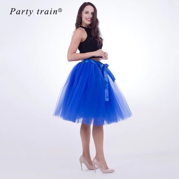 skirt with tulle aliexpress