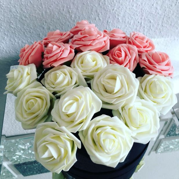 traditional artificial aliexpress roses