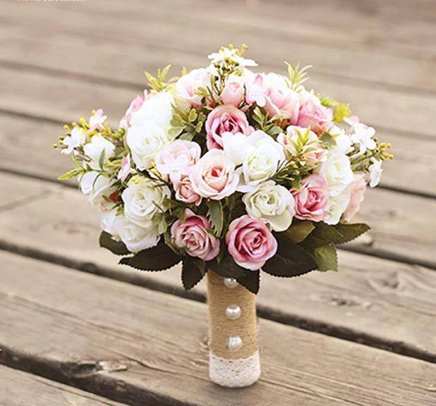 wedding artificial bouquet of Aliexpress