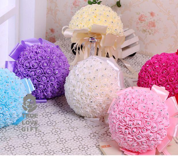 aliexpress bridal bouquet mini