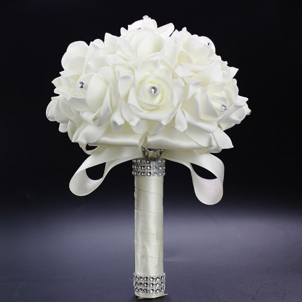 aliexpress bouquet of white roses