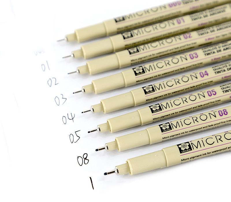 drawing micron pens Aliexpress