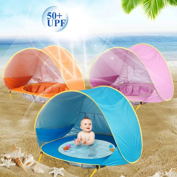 aliexpress portable beach tent with wading pool