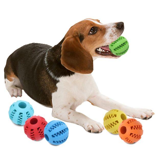 aliexpress rubber dog ball