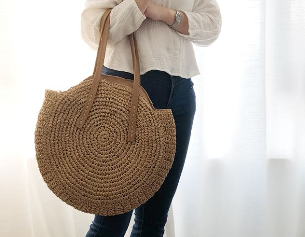 aliexpress large rattan bag