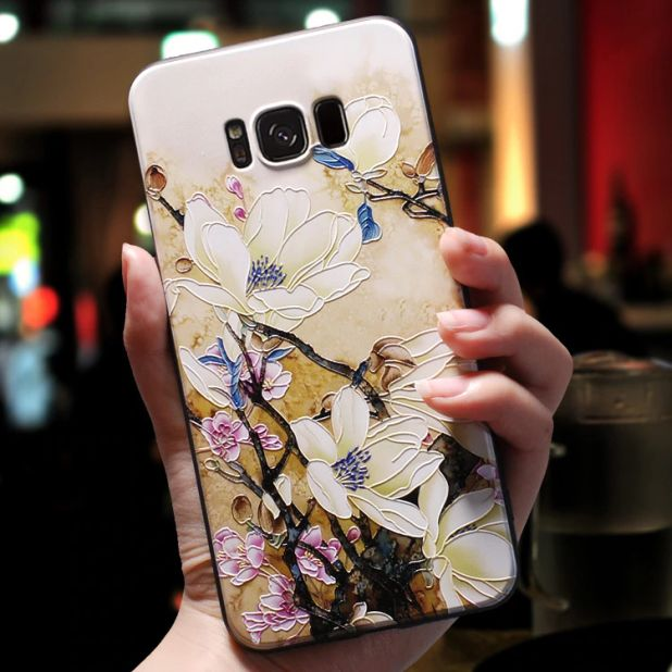 aliexpress floral case so samsung galaxy 3D