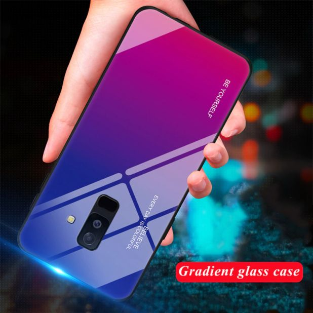 AliExpress case made of gradient glass