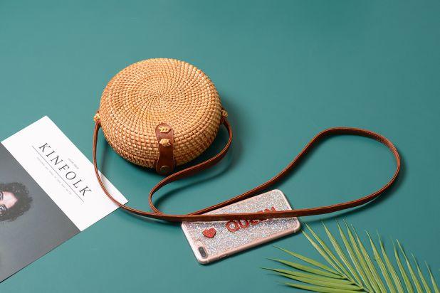aliexpress round rattan handbag