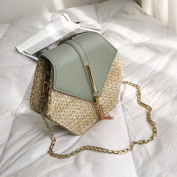 aliexpress rattan handbag